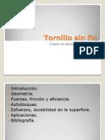 Tornillo Sinfin - Mecanismos