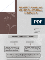 benefit sharing of IPR