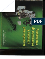 Fundamentos de Mecanismos y Maquinas Para Ingenieros Roque Calero y Jose Carta
