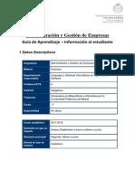 1333 2011-2012 Guia Administracion y Gestion de Empresas