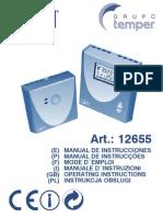 Manual Termostato Coati 12655_esp