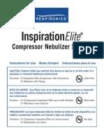 Manual Nebulizador Inspiration Elite