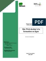 Rapport PFE E-Learning
