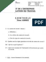 droit des affaires - contrôle continu 1998-1999