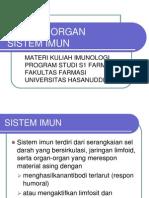01 Sel Dan Organ Sistem Imun