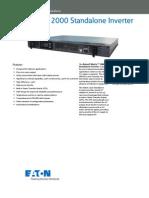 Matrix 2000 Standalone Inverter C A4size