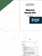 MANUAL DE DERECHO CIVIL - PARTE GENERAL - JOSE A. BUTELER CACERES.pdf