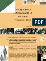 2 foro enfoque d la enseanza d la historia prog 2011