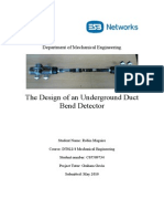 Design and Development of an Underground Duct Bend Detector