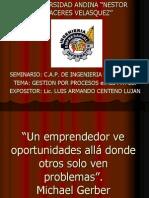 Gestión Empresarial UANCV