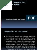 diseño de programas de monitoreo