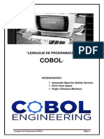 Lenguaje de Programacion Cobol