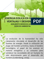 Energia Eolica en Oaxaca- Ventajas y Desventajas