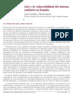 Hecho Migratorio y Vulnerabilidad Del Sistema Sanitario Comelles