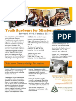 Youth Academy for Missional Wisdom