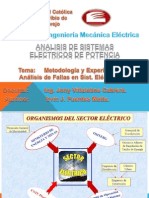 Metodología y Analisis de Falla de Sis. Elec. de Potencia