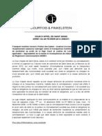 Fiche no 6 - Cour d'appel de Saint Denis de La Réunion 28 février 2013 -TRansport maritime - Clause attributive de juridicition - Opposabilité
