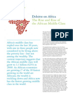 Deloitte on Africa The Rise and Rise of 