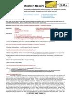 ID Mineral Scientific Method Lab Report