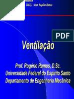 Ventilação III - psicrometria