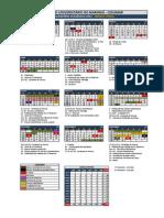 Calendario Academico2013 Anual