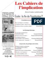 Cahiers Implication n6
