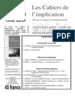Cahiers Implication n4