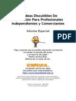 Ideas Profesionales y Comercios