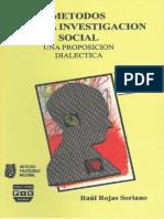 108817358 Metodos Para La Investigacion Social Una Proposicion Dialectica