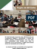 Las Reglas de Bill Gates Diapositivas