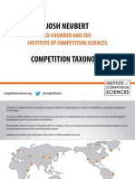 Competition Taxonomy
