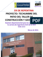 Bases Para La Repentina (Ing. Civil Uca) (Ciclo 12-2)