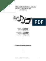 Programacion Pedagogia Musical
