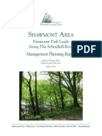 Shawmont Area Management Planning Report - Natural Lands Trust