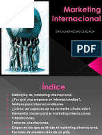 Marketing Internacional INTRODUCCIION