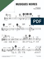 Thierry Pastor - Sur Des Musiques Noires.pdf