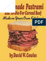 Homemade Pastrami and To-Die-For Corned  - Cowles, David W_.epub
