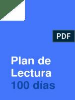 Plan de lectura 100 días
