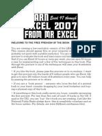 Learn Excel 2007 From Mr.excel - Bill Jelen