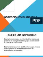 PRESENTACIÓNN INSPECCIONES PLANEADAS