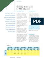 3GPP Channel Simulation