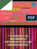 Sikuri y Movimiento Estudiantil-2
