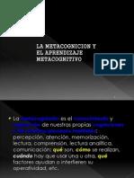 aprendizaje metacognitivo