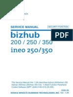 Service Manual Bizhub c250
