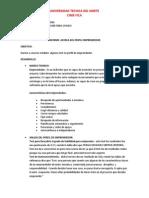 Informe Perfil Emprendedor