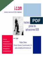 Comercio Electrónico entre Empresas