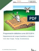 Programación LCL 2013-14- 1º Bachiller