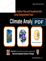 climate analysis workshop