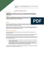Almacenamiento en estanterías metálicas (Parte I)