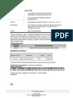 Inf. 036-2013 Requerimiento de Perfil de Fierro